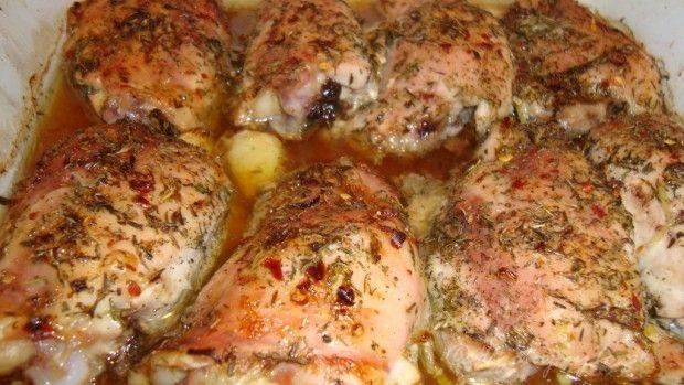 Kurczak z cytryna i tymiankiem