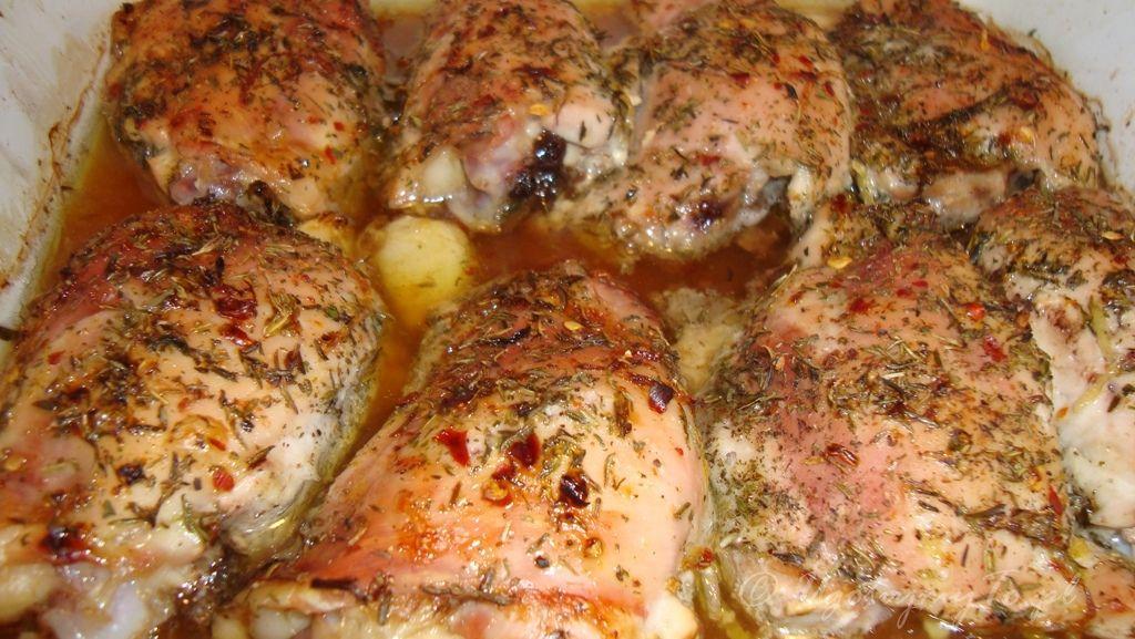 Kurczak Z Cytryną I Tymiankiem Ugotujmytopl
