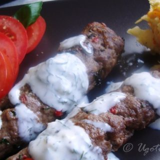 Przepis na shish kebab z mielonej baraniny