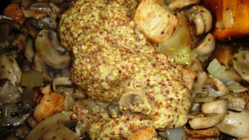 Kurczak w sosie śmietanowo-musztardowym