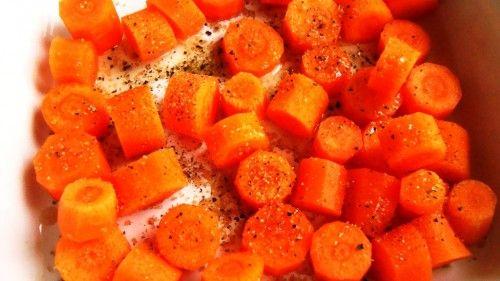 marchewki pieczone
