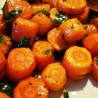 Pieczone marchewki - foto 4
