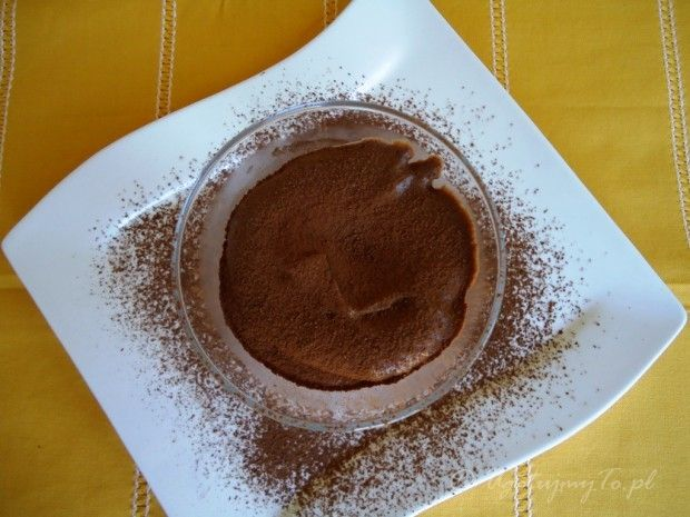 Mus czekoladowy z suszonymi śliwkami