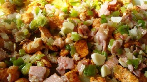 ziemniaczana zapiekanka z kurczakiem