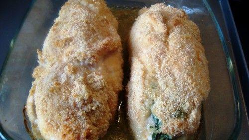 Roladki z kurczaka ze szpinakiem
