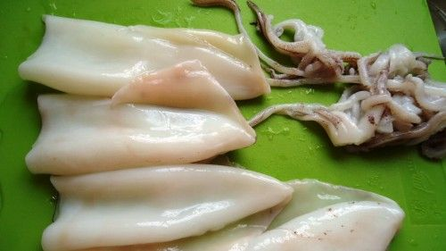 Smażone kalmary