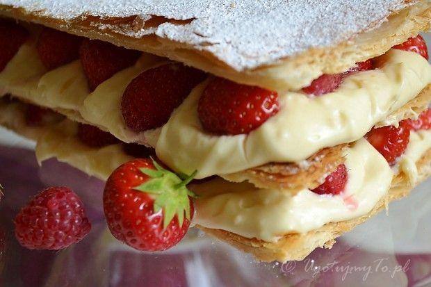 Millefeuilles z owocami czyli napoleonka inaczej