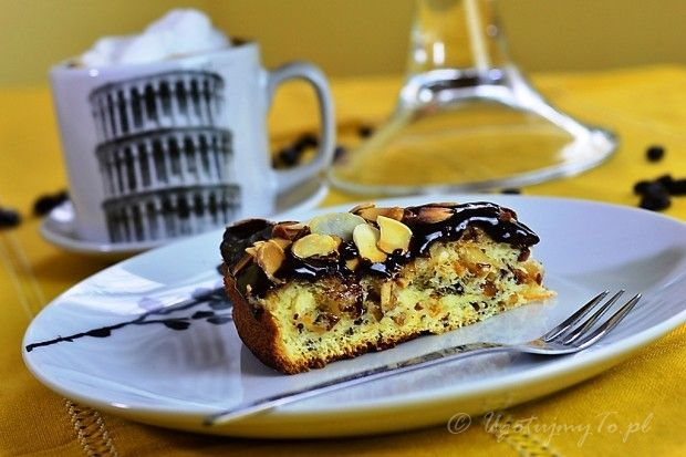 Włoskie ciasto migdałowe