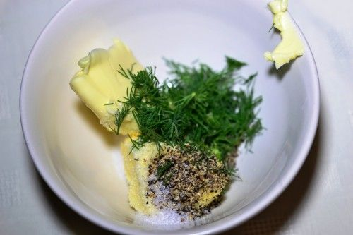 Pstrąg pieczony w sosie cytrusowo-miętowym