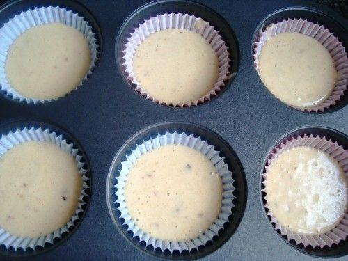 muffinki babeczki bananowe