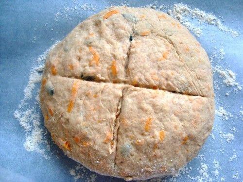 Potrawy z dyni - chleb z dyni
