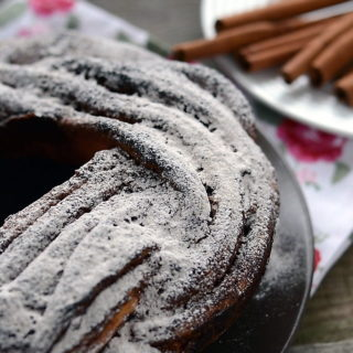 Ciasto cynamonowe kringel estoński