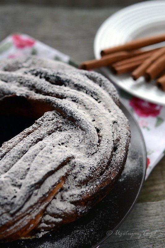 Ciasto cynamonowe kringel estonski