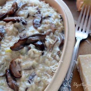 Przepis na risotto z grzybami