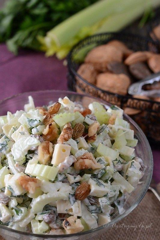 Salatka z selerem naciowym