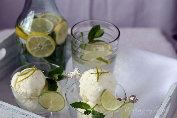 Lody kokosowo-limonkowe