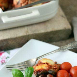 Bakłażanowe cannelloni czyli zapiekanka z bakłażana