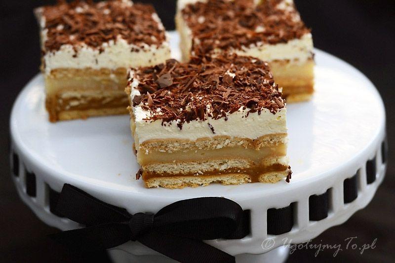 Ciasto 3 Bit Przepis Na Ciasto 3bit Na Herbatnikach Ugotujmyto Pl