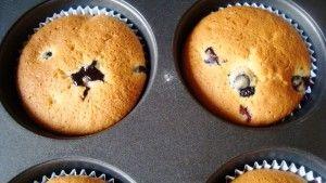 Muffinki borowkowe