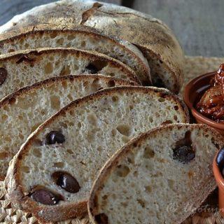 Pszenny chleb oliwkowy (wg J. Hamelmana)