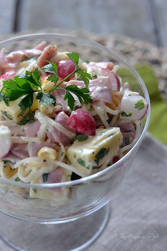 Salatka Z Selera Konserwowego Ugotujmyto Pl