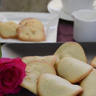Ciasteczka maślane Tuiles