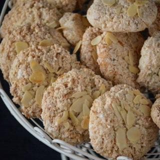 Makaroniki migdalowo-kokosowe