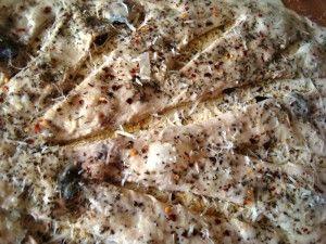 Przygotowanie chlebka Fougasse