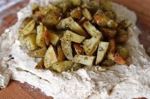 Przygotowanie chleba z ziemniakami