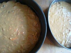 Przygotowanie ciasta marchewkowego