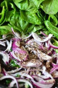 Przygotowanie tarty ze szparagami