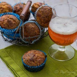 Muffinki z cukinią na wytrawnie