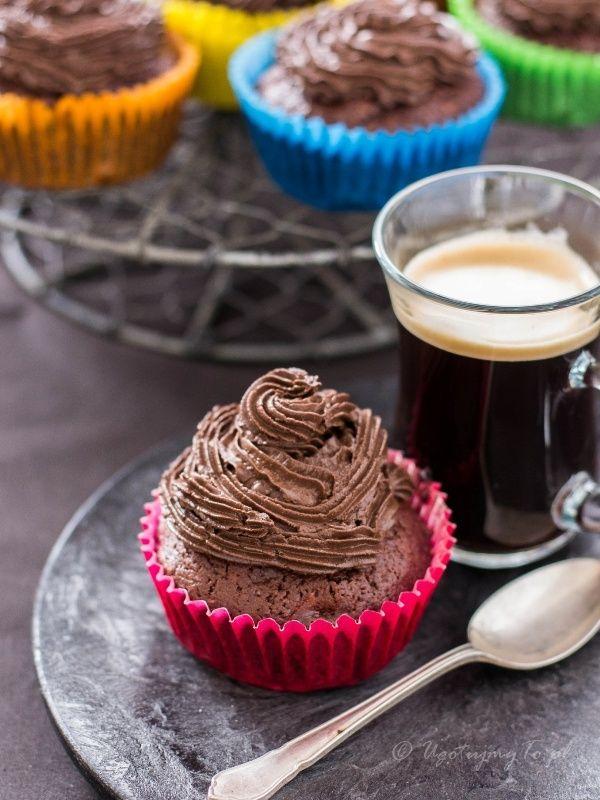 Muffiny czekoladowe z cukinia