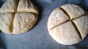 Przygotowanie chleba sodowego