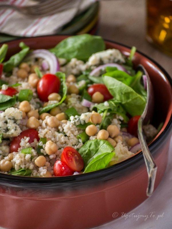Salatka z kaszy jeczmiennej