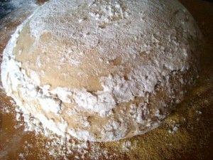 Przygotowanie chleba kaszubskiego