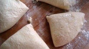Przygotowanie chlebka tureckiego