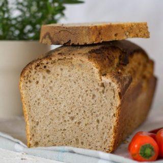 Chleb pszenno-żytni z mąką prażoną