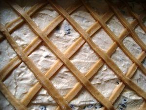 Przygotowanie drożdżówki z serem